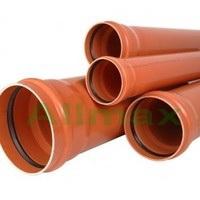 Труба ПВХ для наружной канализации Armakan 160*3,2*2