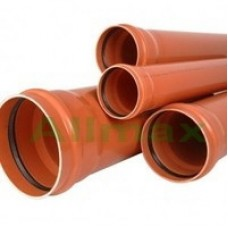 Труба ПВХ для наружной канализации Armakan 110*3,2*3