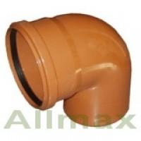 Фасонные изделия для наружной канализации Armakan колено ПП 110/90°