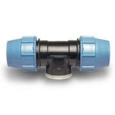Компрессионные фитинги для полиэтиленовых труб Тройник 90° с внутренней резьбой