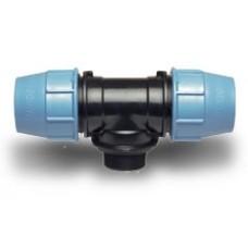 Компрессионные фитинги для полиэтиленовых труб Тройник 90° с наружной резьбой