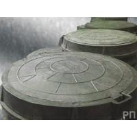 Люк канализационный полимерпесчаный круглый