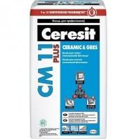 Клей для плитки усиленной фиксации Ceresit СМ 11 plus