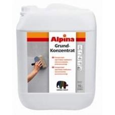 Концентрат акриловой грунтовки глубокого проникновения для наружных и внутренних работ-Alpina Grund-Konzentrat