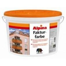 Фактурная краска Alpina Fakturfarbe Base 1 (белая)