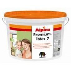 Шелковисто-матовая, особо устойчивая латексная краска для интерьеров Alpina Premiumlatex 7 Base 1 (белая)
