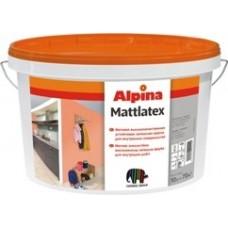 Устойчивая латексная краска для интерьеров Alpina Mattlatex- Колеруется вручную колорантами Alpina Kolorant