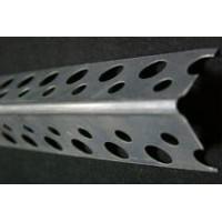 Уголок (профиль) перфорированный, алюминиевый