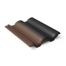 Черепица минеральная Таунус Антик темно-коричневый