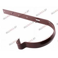 Водосток Profil 90 - держатель желоба, стальной, изогнутый