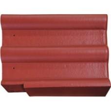 Черепица цементно песчаная, фронтонная (правая. левая)