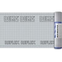 Пароизоляционная пленка с алюминиевым рефлексным слоем DELTA-REFLEX