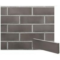 Облицовочная плитка клинкерная Brisbane- серого цвета с металлическим блеском PENF 22