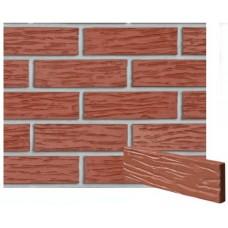 Клинкерная плитка Melbourne - красная рифленая PENF 26