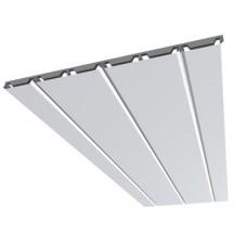 Алюминиевый реечный потолок с подвестной системой закрытого типа ППР-075/150