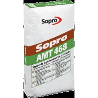 Выравнивающая шпаклевка с трассом  Sopro AMT 468