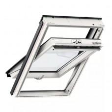 Мансардное окно Velux стандарт, GLU 0061B, ручка снизу (дерево/полиуретан)