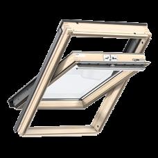 Мансардное окно Velux Стандарт, GLL 1061, ручка сверху (дерево/лак)